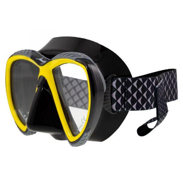 Маска Marlin ACCENT Yellow/Black