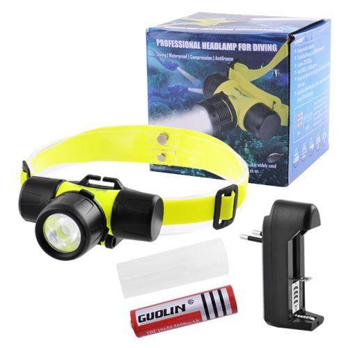 Подводный налобный фонарик Bailong BL-6800