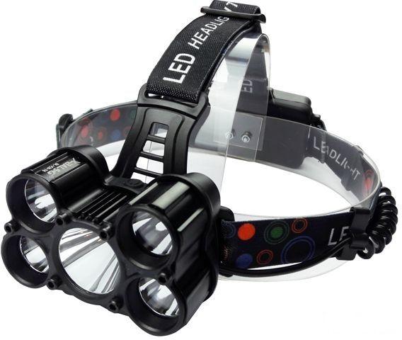 Налобный фонарик Police BL-V28-5-T6