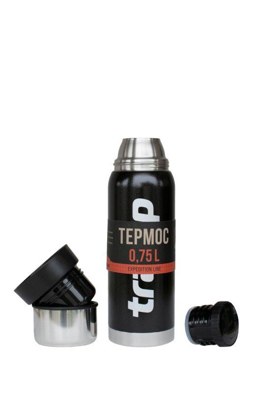 Термос Tramp Expedition Line 0.75 л Черный (TRC-031-black)