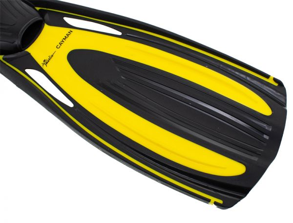 Ласты Marlin Cayman с закрытой пяткой Yellow