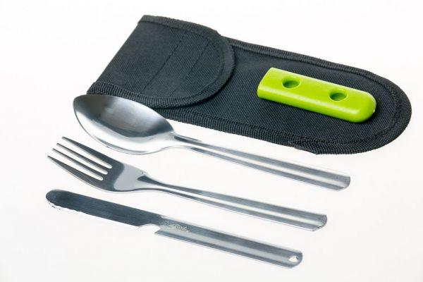 Набор ложка/вилка/нож Tramp (TRC-052)