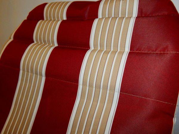 Шезлонг Ranger RA 7012R Красный с серым